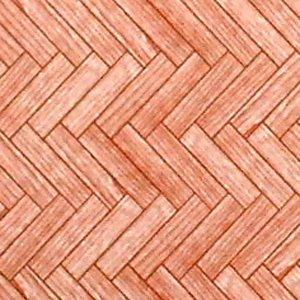"""画像1: 壁紙 床用 A3 (297 × 420 ミリ) """"Parquet Flooring"""" Dark"""