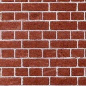 """画像1: 紙 外壁用 A3 (297 × 420 ミリ) """"Brick"""" Red"""