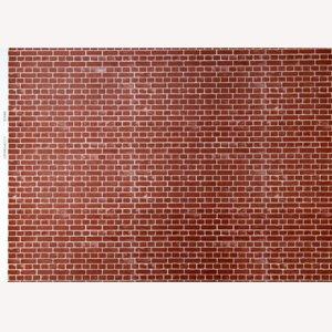 """画像5: 紙 外壁用 A3 (297 × 420 ミリ) """"Brick"""" Red"""