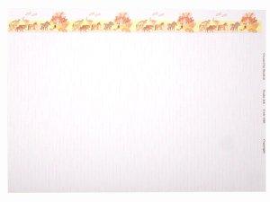 画像3: 壁紙 A3 (297 × 420 ミリ)NOAH'S ARK Pink