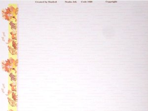 画像4: 壁紙 A3 (297 × 420 ミリ)NOAH'S ARK Pink