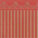壁紙 A3 (297 × 420 ミリ)室内壁用 Majestic Gold/Red
