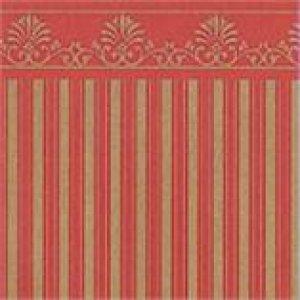 画像1: 壁紙 A3 (297 × 420 ミリ)室内壁用 Majestic Gold/Red