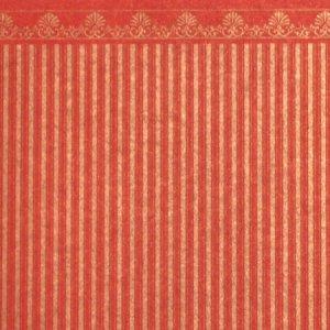 画像2: 壁紙 A3 (297 × 420 ミリ)室内壁用 Majestic Gold/Red