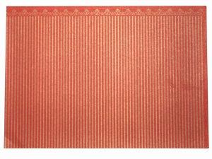 画像4: 壁紙 A3 (297 × 420 ミリ)室内壁用 Majestic Gold/Red