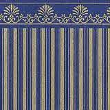 """Victorian"" Gold/Blue"