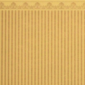 画像2: Majestic Stripe Wallpaper Gold / Beige