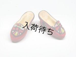 1/12サイズのドールハウス用ミニチュア 婦人靴(ミュール)