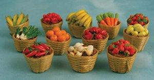 画像3: 果物バスケット オレンジ