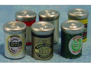 画像1: ビール缶セット