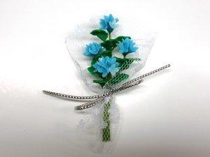 1/12サイズのドールハウス用ミニチュア 花のブーケ
