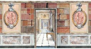 """画像1: """"Door Books Wall Plaque 3D """""""