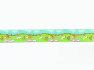 画像1: 壁紙 ボーダー用 長さ:約42cm  Farmyard Border