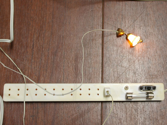 ドールハウス照明簡単ガイド