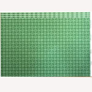 greenwich green 壁紙 室内 diy建材 1 12サイズのドールハウス用ミニチュア